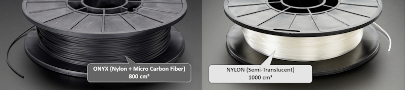 Mark Two Onyx ve Naylon Filament Ruloları